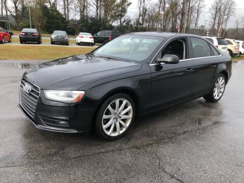 2013 Audi A4 for sale at IH Auto Sales in Jacksonville NC