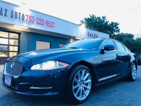 2011 Jaguar XJ for sale at Trimax Auto Group in Norfolk VA