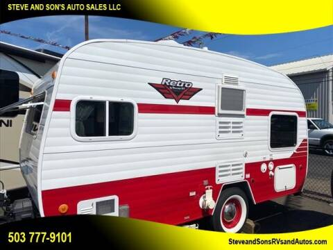 2017 Riverside Retro 166 model for sale at Steve & Sons Auto Sales in Happy Valley OR
