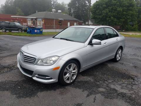 2014 Mercedes-Benz C-Class for sale at Lara's Auto Sales LLC in Concord NC