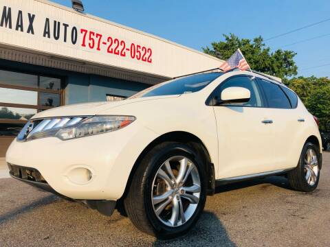 2010 Nissan Murano for sale at Trimax Auto Group in Norfolk VA
