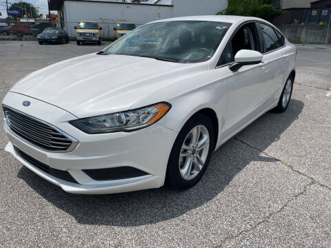 2018 Ford Fusion for sale at East Memphis Auto Center in Memphis TN