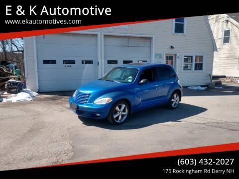 2003 Chrysler PT Cruiser for sale at E & K Automotive in Derry NH