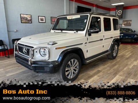 2019 Mercedes-Benz G-Class for sale at Bos Auto Inc in Quincy MA