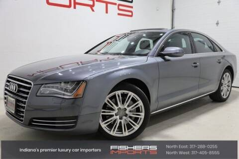 2014 Audi A8 for sale at Fishers Imports in Fishers IN