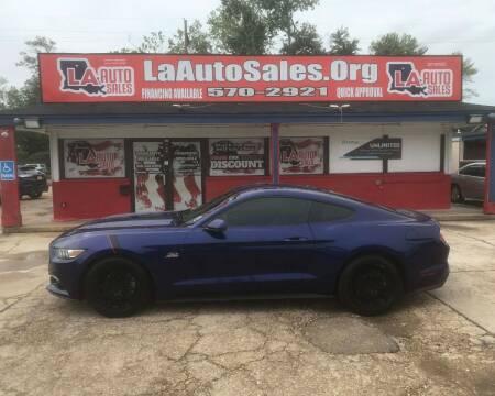 2015 Ford Mustang for sale at LA Auto Sales in Monroe LA