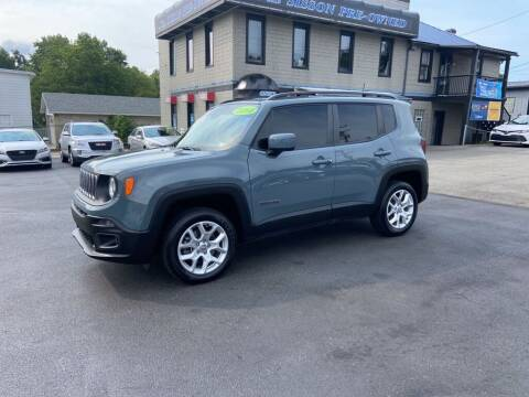 2018 Jeep Renegade for sale at Sisson Pre-Owned in Uniontown PA