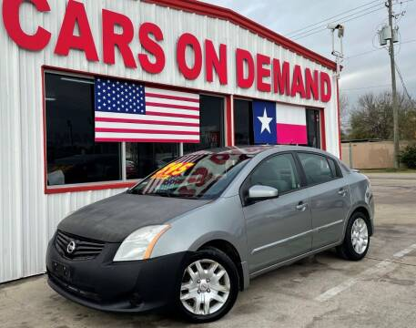 2012 Nissan Sentra for sale at Cars On Demand 2 in Pasadena TX