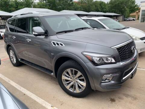 2017 Infiniti QX80 for sale at Excellence Auto Direct in Euless TX