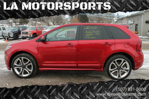 2012 Ford Edge for sale at LA MOTORSPORTS in Windom MN