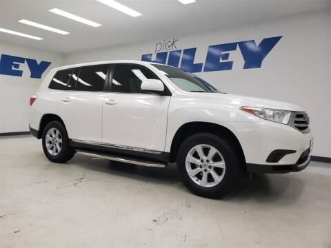 2013 Toyota Highlander for sale at HILEY MAZDA VOLKSWAGEN of ARLINGTON in Arlington TX