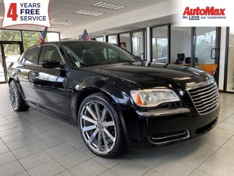2014 Chrysler 300 for sale at Auto Max in Hollywood FL