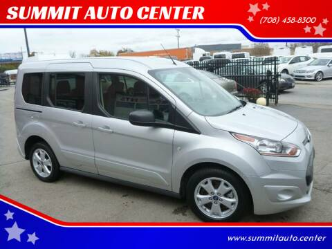 2016 Ford Transit Connect Wagon for sale at SUMMIT AUTO CENTER in Summit IL