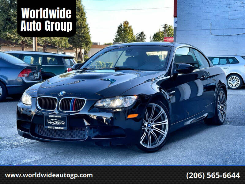 2011 BMW M3 for sale at Worldwide Auto Group in Auburn WA