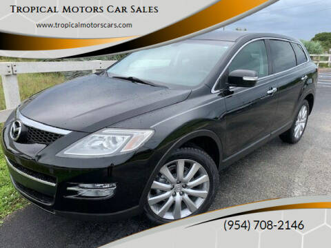 2008 Mazda CX-9 for sale at Tropical Motors Car Sales in Deerfield Beach FL