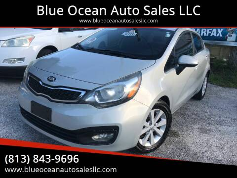 2013 Kia Rio for sale at Blue Ocean Auto Sales LLC in Tampa FL