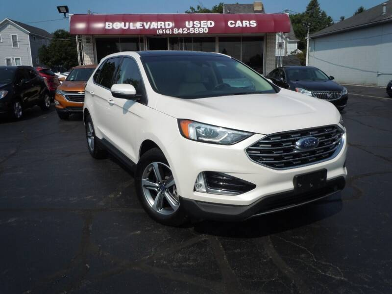 2019 Ford Edge for sale at Boulevard Used Cars in Grand Haven MI