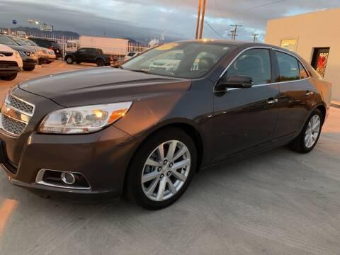 2013 Chevrolet Malibu for sale at Hugo Motors INC in El Paso TX
