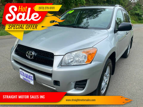 2010 Toyota RAV4 for sale at STRAIGHT MOTOR SALES INC in Paterson NJ