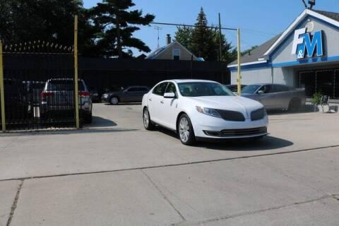 2014 Lincoln MKS for sale at F & M AUTO SALES in Detroit MI