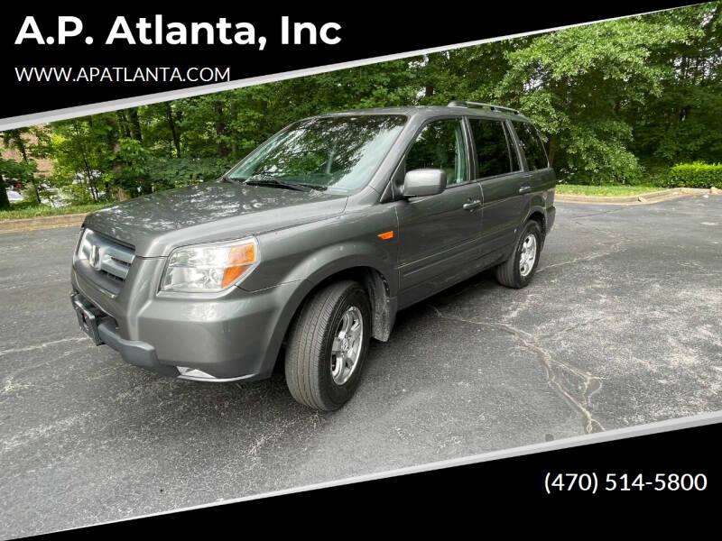 2007 Honda Pilot for sale at A.P. Atlanta, Inc in Sandy Springs GA