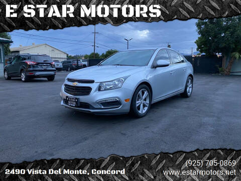 2016 Chevrolet Cruze Limited for sale at E STAR MOTORS in Concord CA