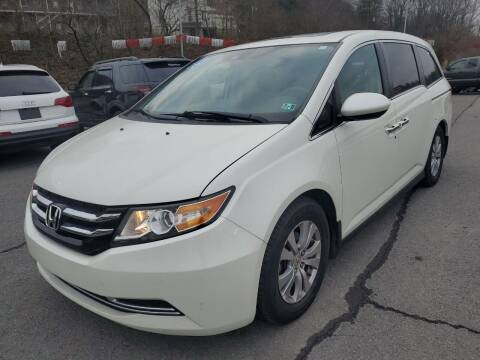 2015 Honda Odyssey for sale at Mulligan's Auto Exchange LLC in Paxinos PA
