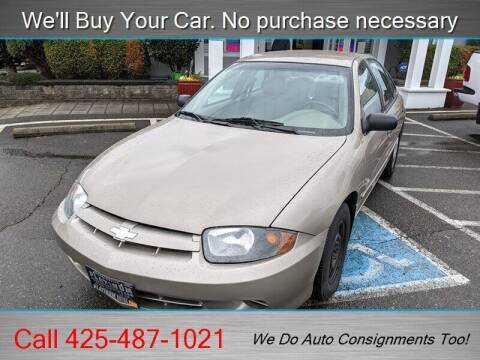 2003 Chevrolet Cavalier for sale at Platinum Autos in Woodinville WA