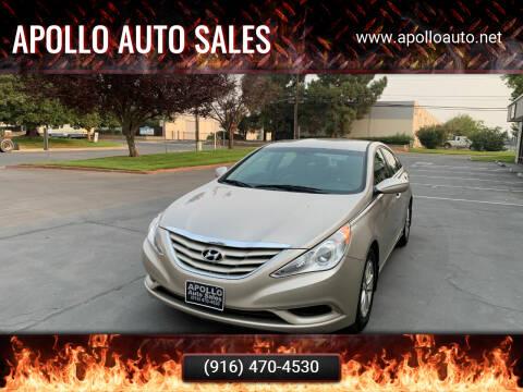 2012 Hyundai Sonata for sale at APOLLO AUTO SALES in Sacramento CA