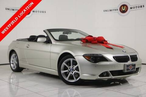 2007 BMW 6 Series for sale at INDY'S UNLIMITED MOTORS - UNLIMITED MOTORS in Westfield IN