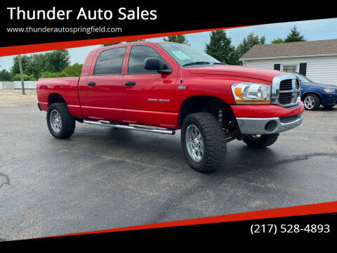 2006 Dodge Ram Pickup 1500 for sale at Thunder Auto Sales in Springfield IL