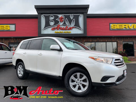 2013 Toyota Highlander for sale at B & M Auto Sales Inc. in Oak Forest IL
