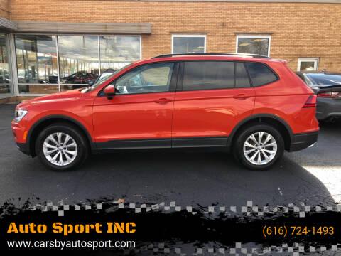 2018 Volkswagen Tiguan for sale at Auto Sport INC in Grand Rapids MI