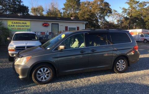 2008 Honda Odyssey for sale at Carolina Car Country in Little River SC