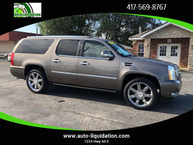2011 Cadillac Escalade ESV for sale at Auto Liquidation in Springfield MO