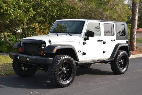 2008 Jeep Wrangler Unlimited for sale at GulfCoast Motorsports in Osprey FL