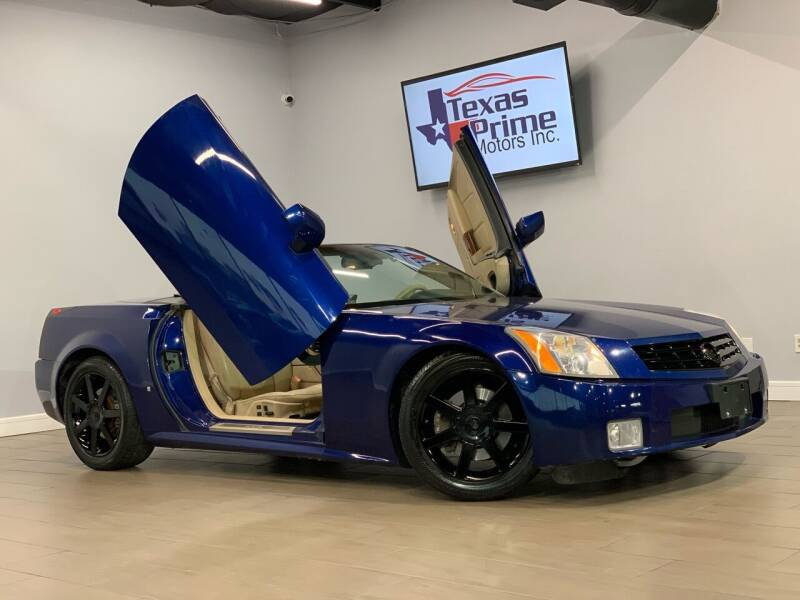 2007 Cadillac XLR for sale at Texas Prime Motors in Houston TX