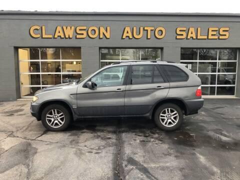 2006 BMW X5 for sale at Clawson Auto Sales in Clawson MI