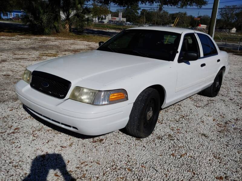 2011 Ford Crown Victoria for sale at REDLINE MOTORGROUP INC in Jacksonville FL