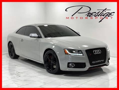 2010 Audi S5 for sale at Prestige Motorsport in Rancho Cordova CA