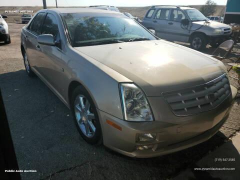 2006 Cadillac STS for sale at PYRAMID MOTORS - Pueblo Lot in Pueblo CO
