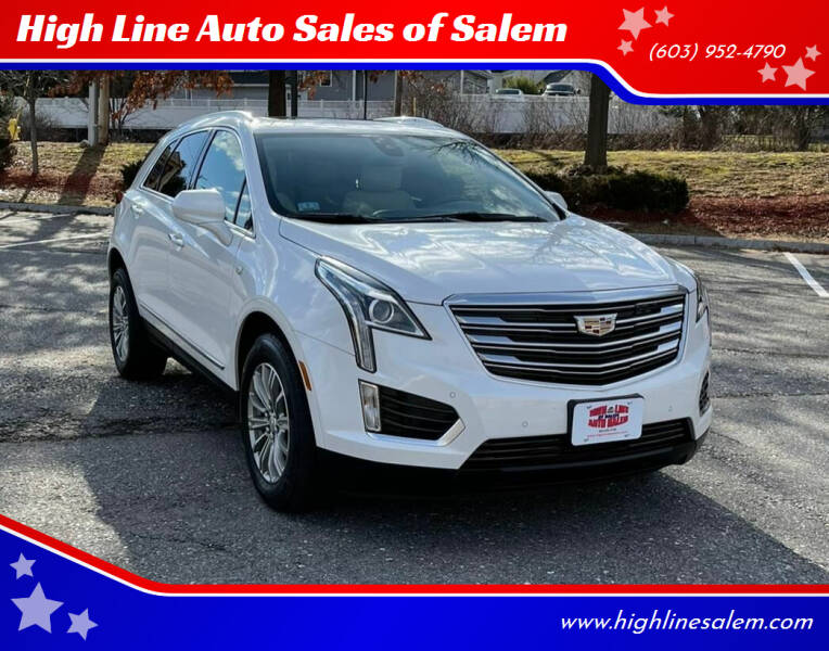 2017 Cadillac XT5 for sale at High Line Auto Sales of Salem in Salem NH