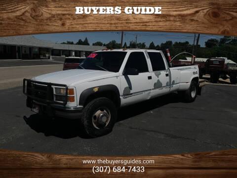 1998 GMC Sierra 3500 for sale at Buyers Guide in Buffalo WY