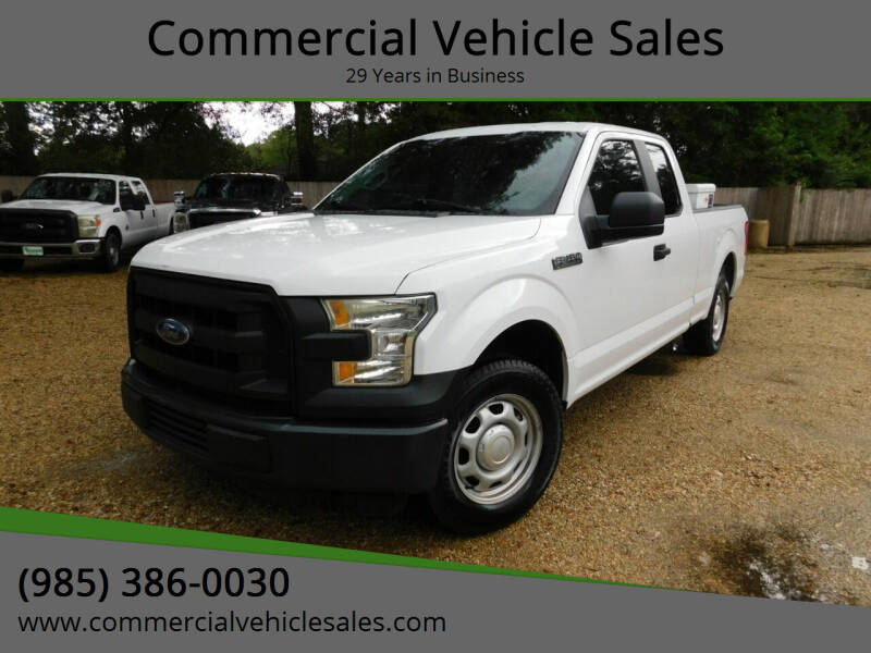 2015 Ford F-150 for sale at Commercial Vehicle Sales in Ponchatoula LA