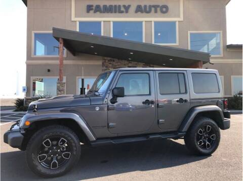 2018 Jeep Wrangler JK Unlimited for sale at Moses Lake Family Auto Center in Moses Lake WA