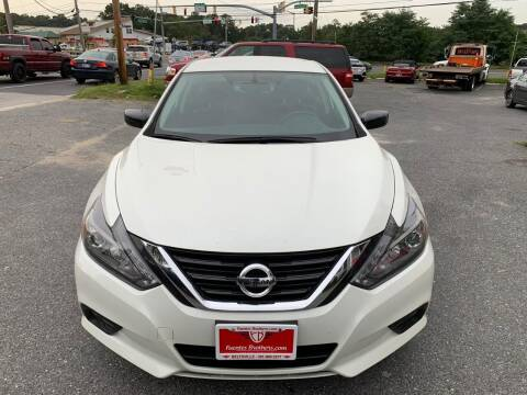 2017 Nissan Altima for sale at Fuentes Brothers Auto Sales in Jessup MD