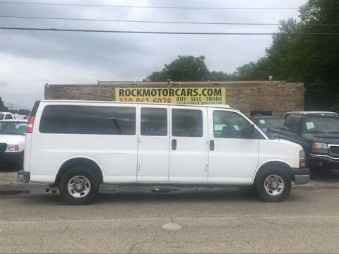 2015 Chevrolet Express Passenger for sale at ROCK MOTORCARS LLC in Boston Heights OH