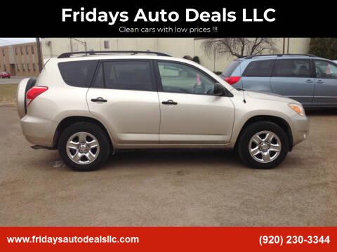 2007 Toyota RAV4 for sale at Fridays Auto Deals LLC in Oshkosh WI