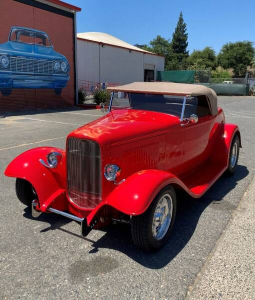 1932 Ford Deluxe for sale at California Automobile Museum in Sacramento CA