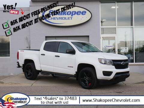 2018 Chevrolet Colorado for sale at SHAKOPEE CHEVROLET in Shakopee MN